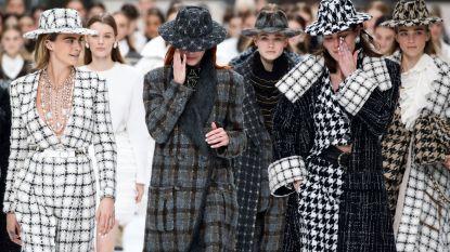 De laatste show van Karl Lagerfeld voor Chanel was een emotionele ode aan de ontwerper