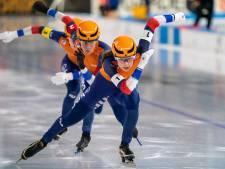 Nederlandse vrouwen pakken zilver op teamsprint