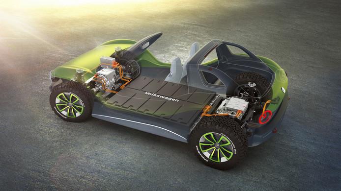 Het MEB-platform van Volkswagen voor elektrische auto's
