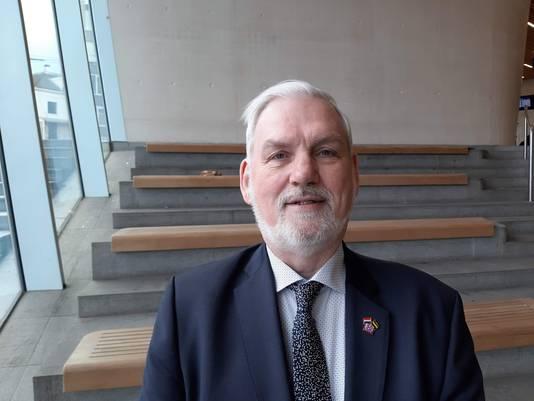 Marcel Bruins, fractievoorzitter van 50plus in de Gelderse Provinciale Staten
