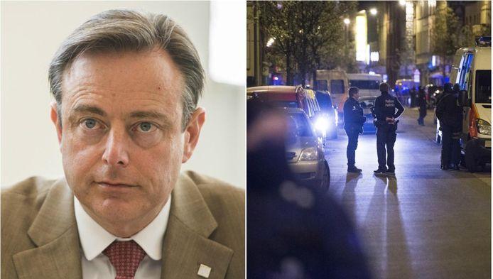 """Antwerps burgemeester en N-VA-voorzitter Bart De Wever: """"Onze strijd is nog niet gestreden. Europa zal nog donkere dagen moeten doormaken. We mogen echter nooit opgeven."""""""
