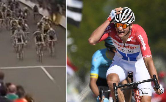 Van der Poel won 29 jaar na vader Adrie de Amstel Gold Race.
