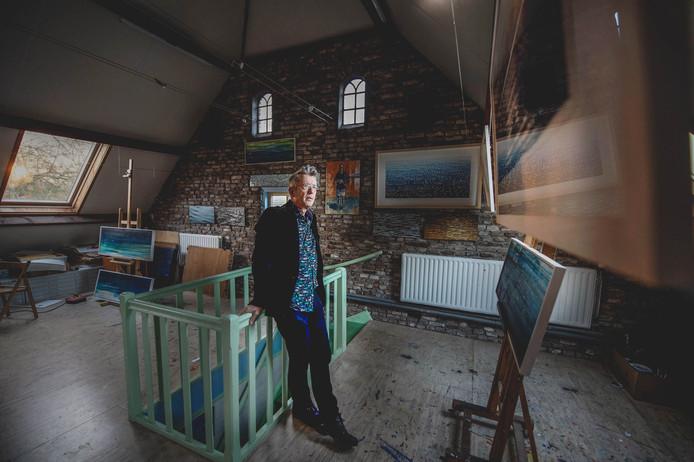 Kunstenaar Gerrit van Meurs.