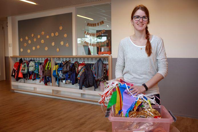 Susan Mutsaers; eventmanager. Met sinds kort de basisschool als haar nieuwe werkgever.
