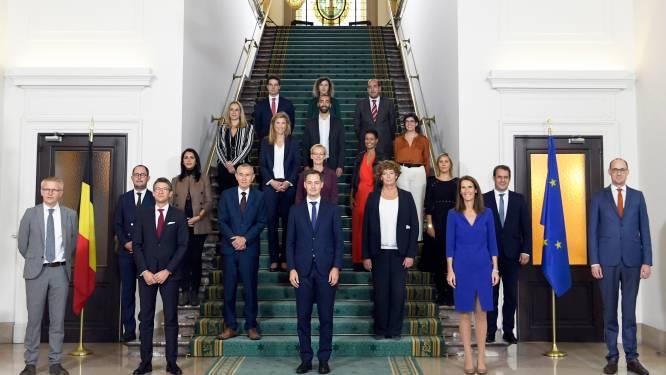 """LIVE. Eerste peiling: 46 procent heeft geen vertrouwen in nieuwe regering - """"Positie van Bouchez als voorzitter wankelt"""""""