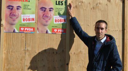 Affiches PVDA belanden maar niet op de juiste plaats op de verkiezingsborden