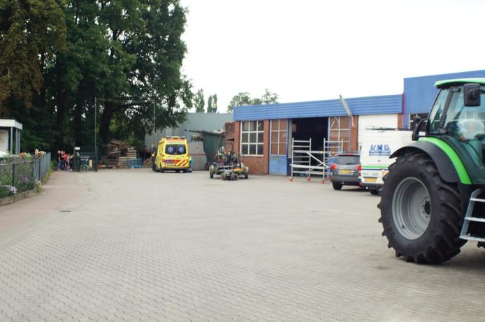 Het bedrijf in Bredevoort.