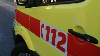 Passagier gewond bij aanrijding in Oude Zandstraat