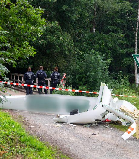 Twee doden bij botsing Nederlandse zweefvliegtuigen boven Duitsland: 'Bewoners hoorden een harde knal'