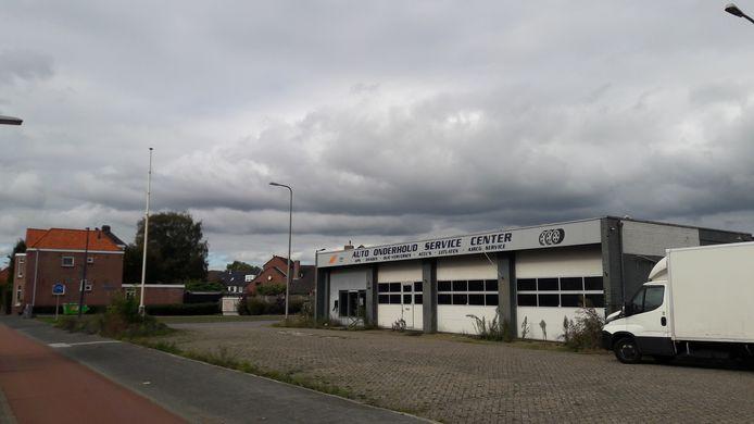De hoek van de Tilburgseweg en de Schoklandstraat in Breda.