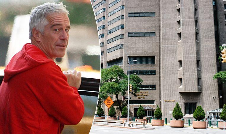 Jeffrey Epstein werd op 10 augustus in New York dood aangetroffen in zijn cel, in deze gevangenis in Manhattan.