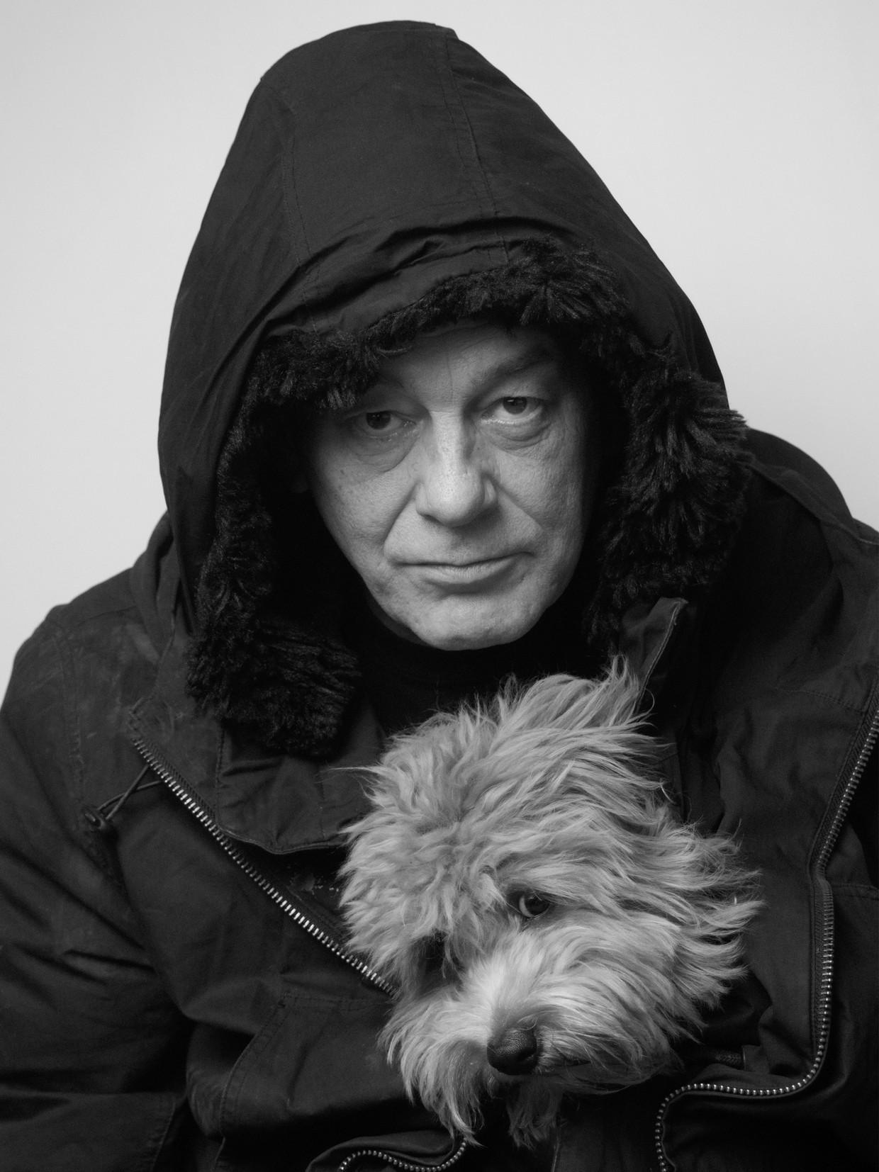 Hans-Olav Thyvold: 'Ik vroeg mijn hond net nog: denk je dat ik een gin-tonic heb verdiend? Wel twee, antwoordde hij.' Beeld HARALD MEDBØE
