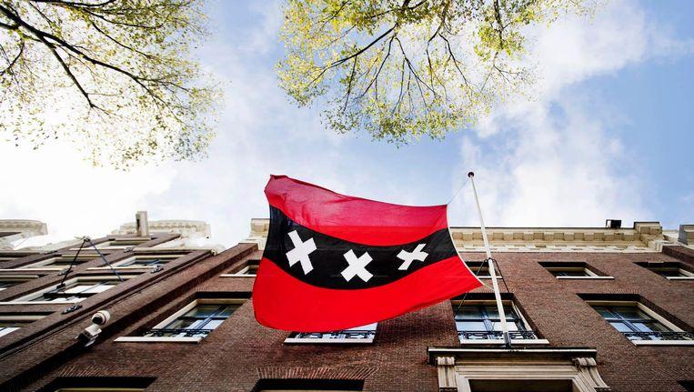 De ambtswoning van Halsema aan de Herengracht. Beeld anp