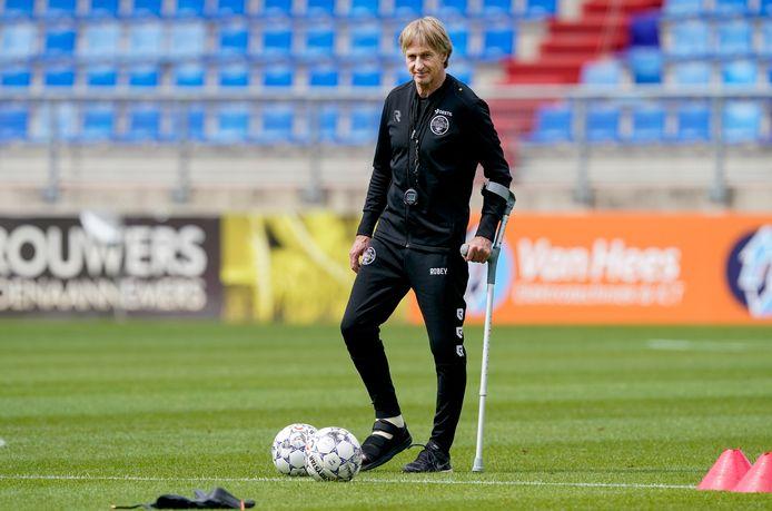 Trainer Adrie Koster van Willem II had graag willen spelen tegen IJsselmeervogels, ondanks het coronageval in zijn selectie.
