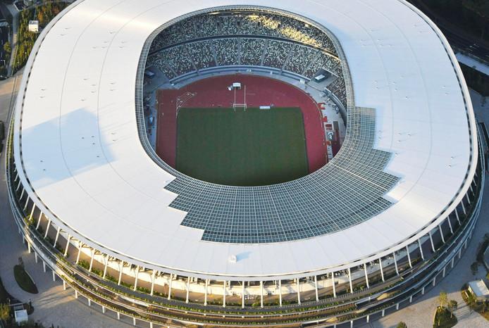 Het olympisch stadion in Tikio