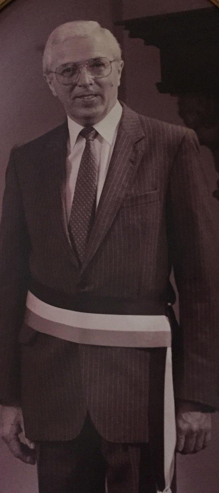 Oud-burgemeester Jef Coel.