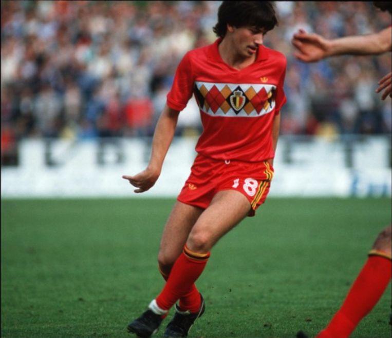 Marc Degryse op het WK in 1984.