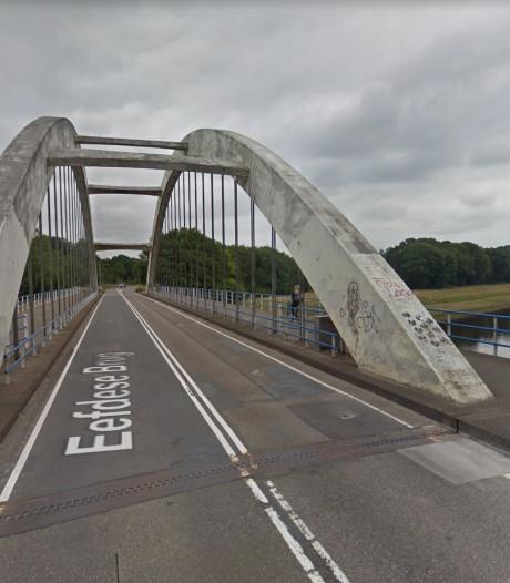 Vier dagen omrijden, de brug tussen Zutphen en Eefde gaat dicht