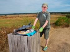 Kroondomein Het Loo haalt prullenbakken weg uit de natuur
