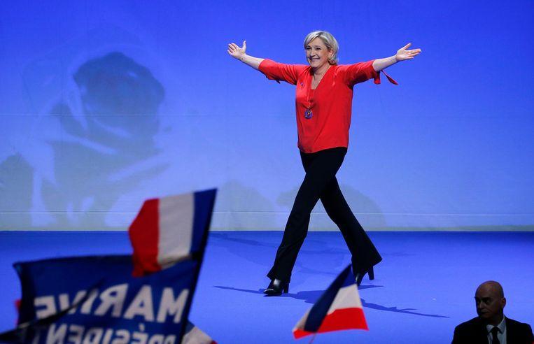 Marine Le Pen Beeld getty