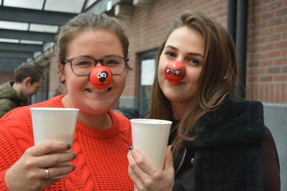 De leerlingen van het Sint-Gummaruscollege verkochten vorig jaar rode neuzen en soep.