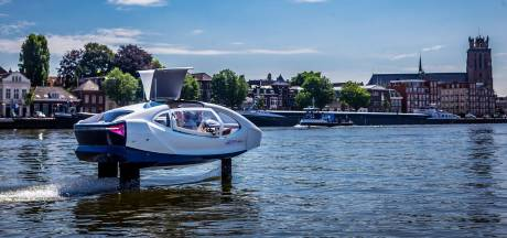 Primeur: vliegende watertaxi in Drechtsteden en Gorinchem