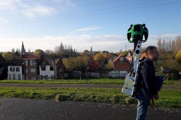 Met een 360° camera werden unieke beelden gemaakt die via Google Streetview te bekijken zijn.