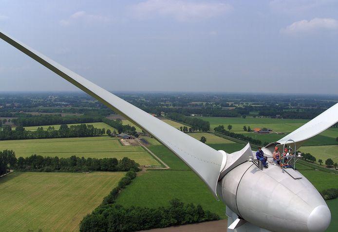 In de Achterhoek staat al een windmolenpark: dat van Hagenwind in Aalten.