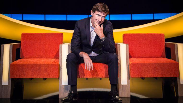 Erik Van Looy stelt de nieuwe kandidaten van de nieuwste reeks van 'De Slimste Mens' voor.