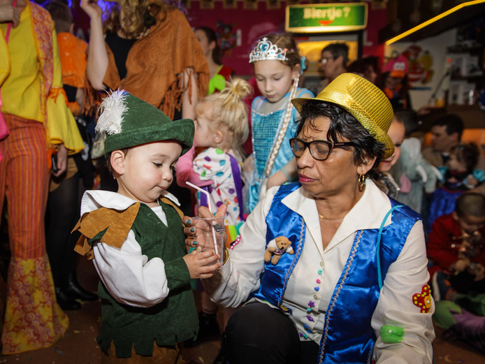 Kindercarnaval in 's-Heerenhoek.