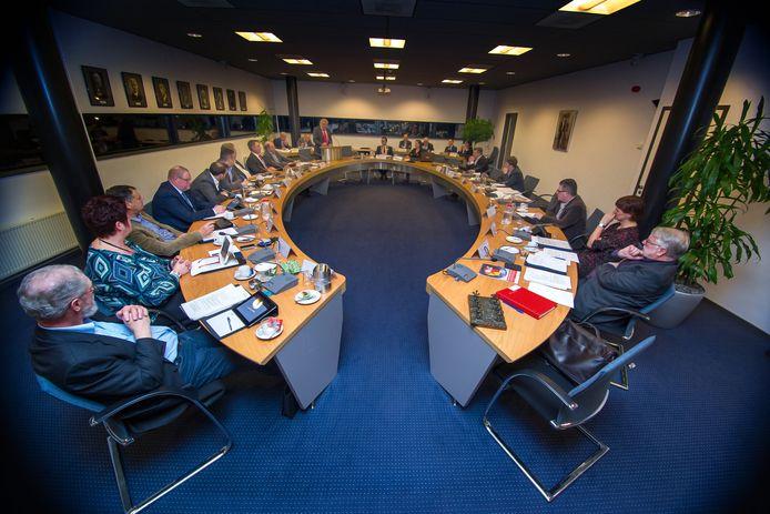 De gemeenteraad van Druten in 2014.