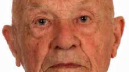 Wie heeft Jaak Verstraete (95) gezien? Vermiste man heeft medische hulp nodig