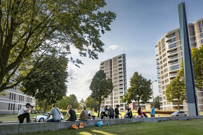 Het Prins Hendrikpark in Den Bosch.