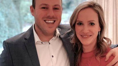 Hopelijk zonder sabotage: 'Mol' Elisabet laat haar zoontje dopen door 'Mol' Pieter