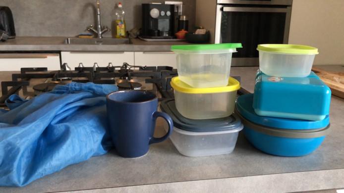 De amunitie voor de afvalvrije week