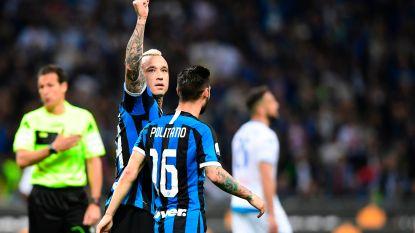 "Football Talk. Nainggolan trapt Inter naar Champions League - Mertens: ""Ik blijf bij Napoli"""