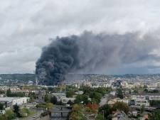 Incendie d'une usine chimique à Rouen: Di Rupo rassure les Wallons