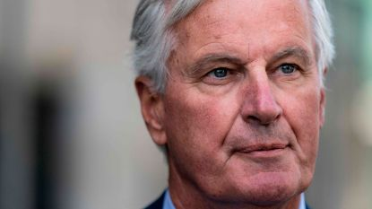 """EU-hoofdonderhandelaar Barnier """"niet optimistisch"""" over kans op brexitakkoord"""