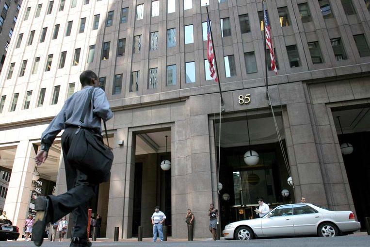 Het hoofdkwartier van Goldman Sachs in New York (EPA) Beeld null