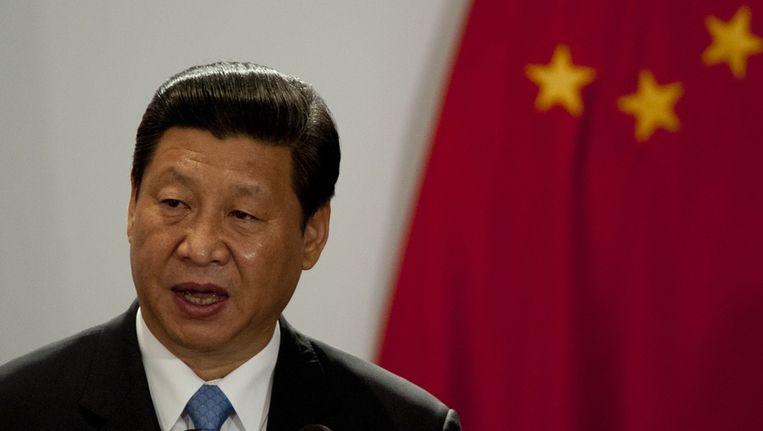 De Chinese president Xi Jinping Beeld anp