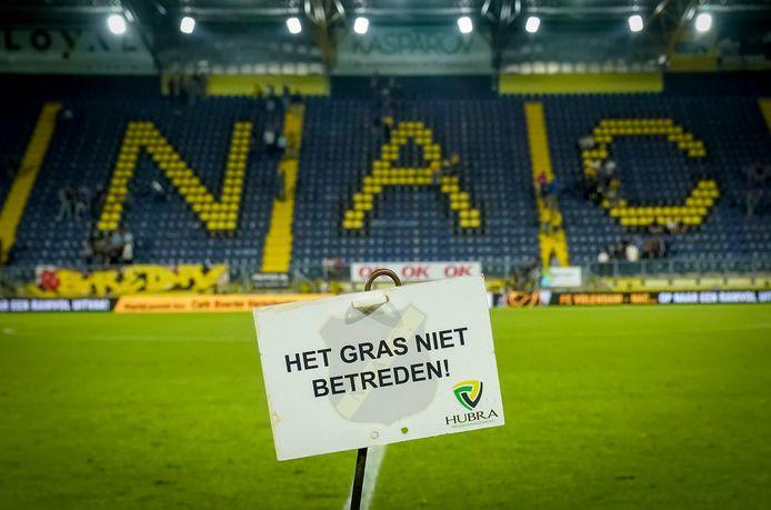 Het stadion van NAC.