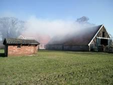 Brand in schuur in Haaksbergen