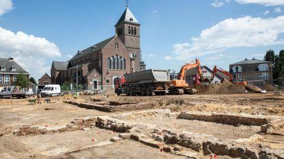Oude fundamenten ontdekt aan Vrijthof