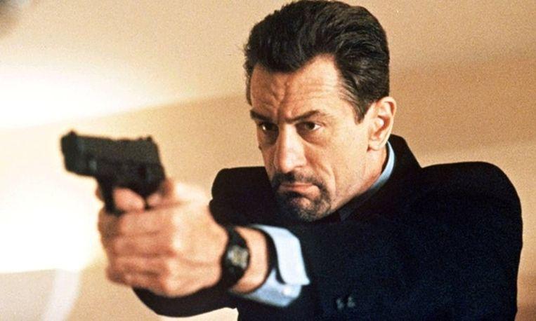 Robert De Niro als Meil McCauley in Heat. Beeld