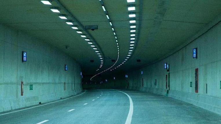 De mooiste films check je in de gloednieuwe tunnel. Beeld 24H Zuidoost / Metro Movies