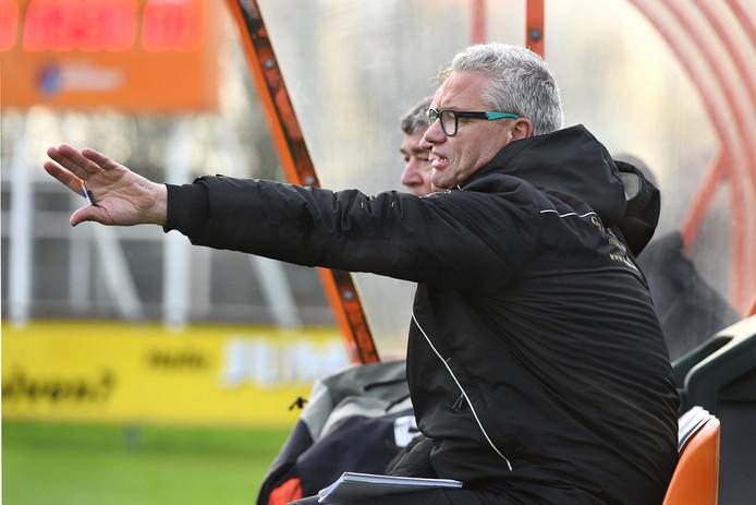 Trainer Ron Olyslager verloor met DVV van vv Doetinchem. Archieffoto Theo Kock