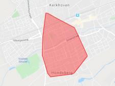 1111 huishoudens tijdelijk zonder stroom in Oisterwijk