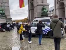Une manifestation dégénère au Cinquantenaire, une seconde action à la gare du Nord