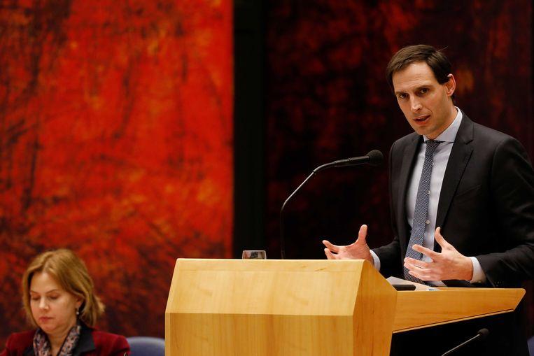 Minister Wopke Hoekstra. Beeld ANP