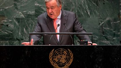 Verenigde Naties dreigen eind deze maand zonder geld te vallen